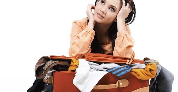 Técnicas para ahorrar espacio en las maletas